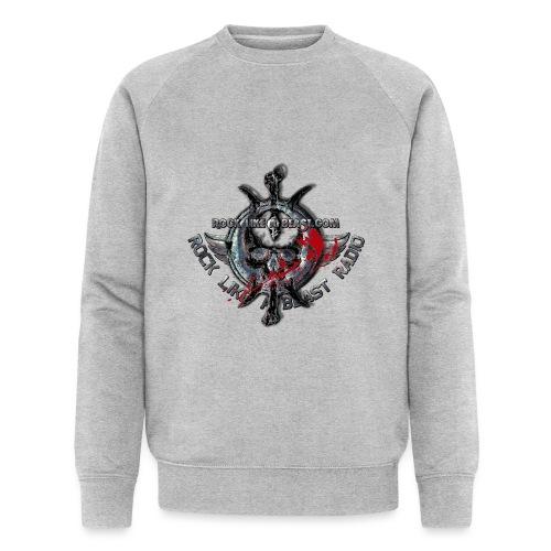 Blood Skull Logo - Ekologisk sweatshirt herr