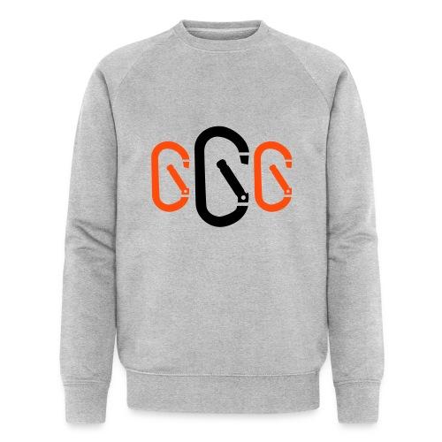 Karabiner 3 - Männer Bio-Sweatshirt von Stanley & Stella