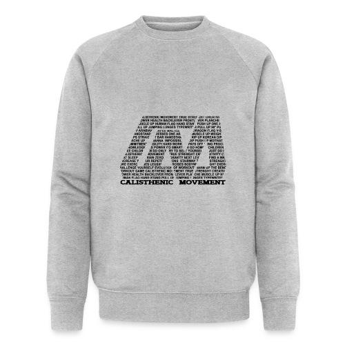 CM Logo aus Text schwarz - Männer Bio-Sweatshirt von Stanley & Stella