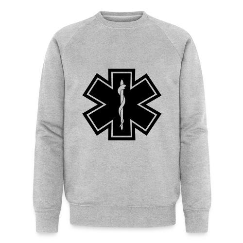 paramedic2 eps - Männer Bio-Sweatshirt