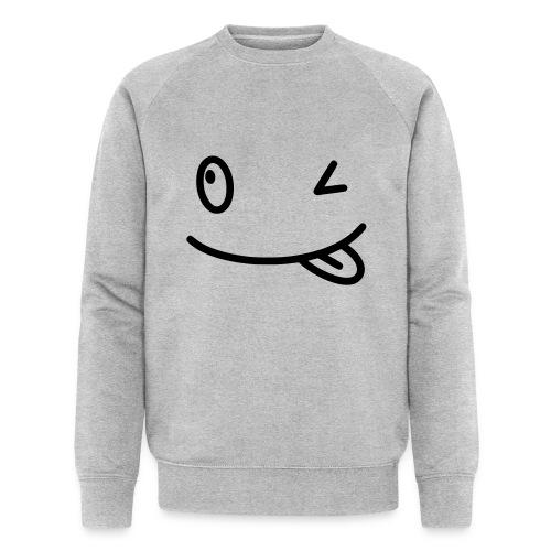 Smiley shirt - Felpa ecologica da uomo di Stanley & Stella