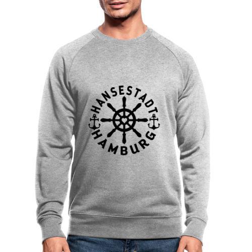 Hamburger Steuerrad - Männer Bio-Sweatshirt von Stanley & Stella