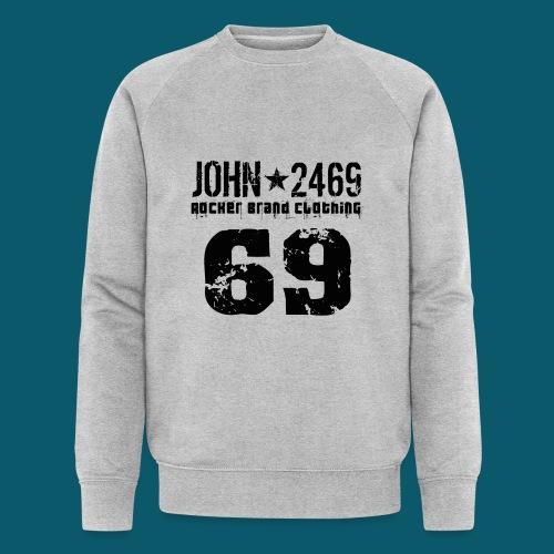john 2469 numero trasp per spread nero PNG - Felpa ecologica da uomo di Stanley & Stella
