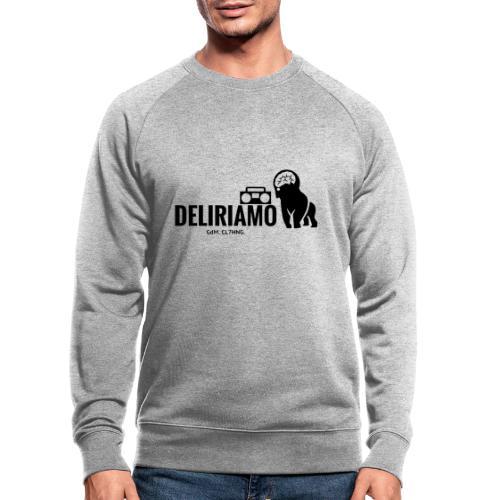 DELIRIAMO CLOTHING (GdM01) - Felpa ecologica da uomo