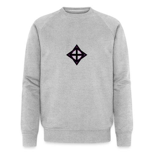 star octahedron geommatrix - Men's Organic Sweatshirt by Stanley & Stella