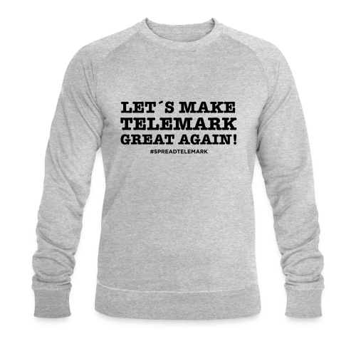 Let´s make telemark great again - Miesten luomucollegepaita