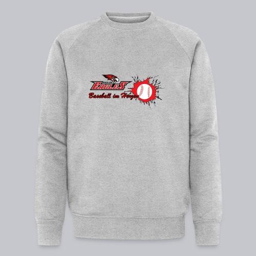 Baseball im Herzen - Männer Bio-Sweatshirt von Stanley & Stella