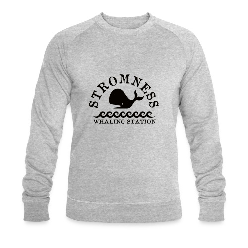 Sromness Whaling Station - Men's Organic Sweatshirt by Stanley & Stella