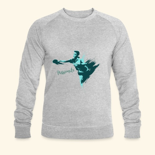 Passionate on winning table tennis champ - Männer Bio-Sweatshirt von Stanley & Stella