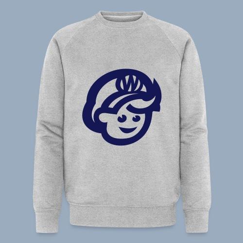 logo bb spreadshirt bb kopfonly - Men's Organic Sweatshirt by Stanley & Stella