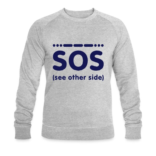 SOS - Mannen bio sweatshirt van Stanley & Stella