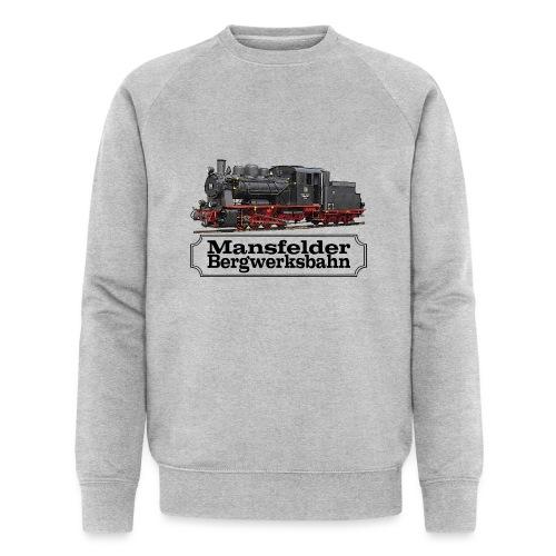 mansfelder bergwerksbahn dampflok 1 - Männer Bio-Sweatshirt von Stanley & Stella