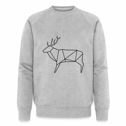 Wired deer - Mannen bio sweatshirt van Stanley & Stella