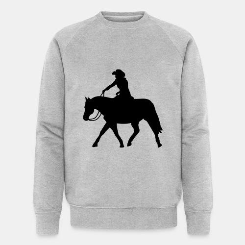 Ranch Riding extendet Trot - Männer Bio-Sweatshirt von Stanley & Stella