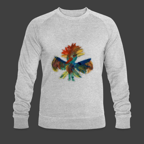 Mayas bird - Men's Organic Sweatshirt by Stanley & Stella