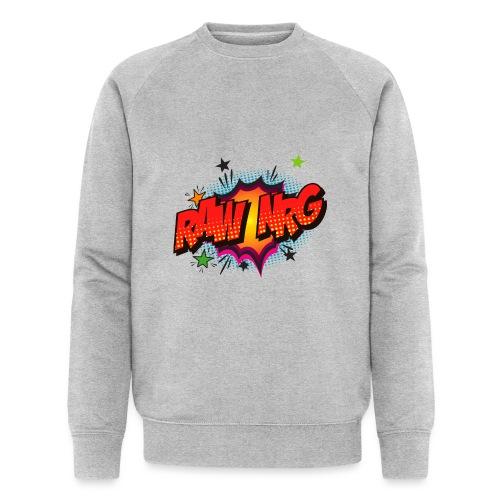 Raw Nrg comic3 - Men's Organic Sweatshirt