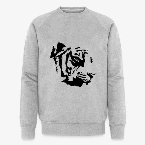 Tiger head - Sweat-shirt bio Stanley & Stella Homme