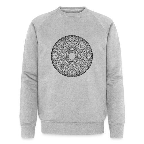 Torus Yantra - Hypnotic Eye - Økologisk Stanley & Stella sweatshirt til herrer