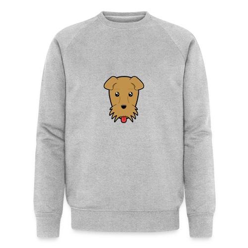 Shari the Airedale Terrier - Men's Organic Sweatshirt by Stanley & Stella