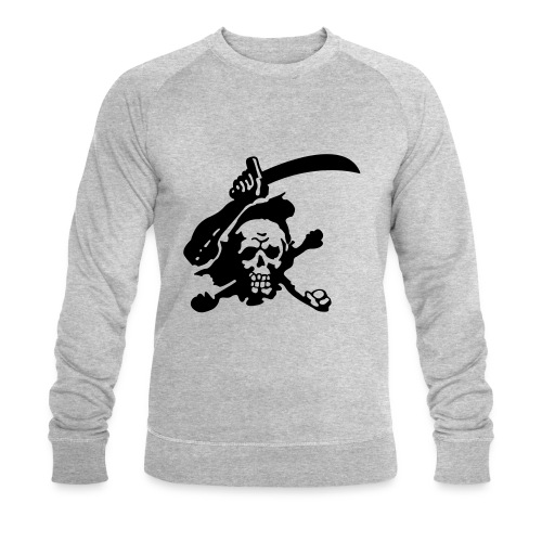 Skull Attack - Men's Organic Sweatshirt by Stanley & Stella