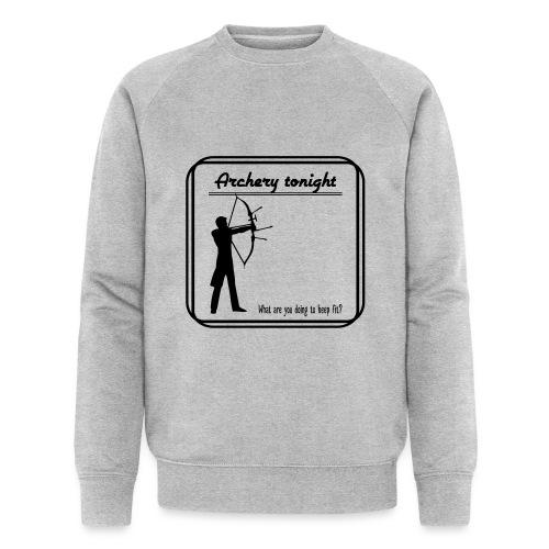 Archery tonight - Miesten luomucollegepaita