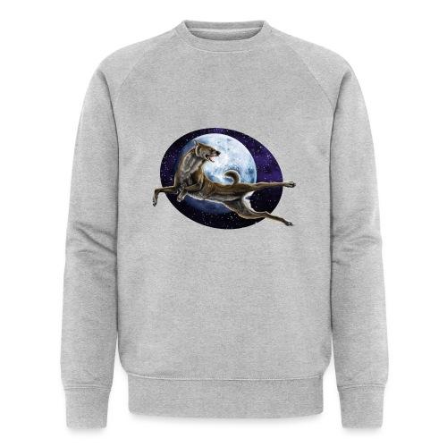 Galaxy Wolf - Männer Bio-Sweatshirt von Stanley & Stella