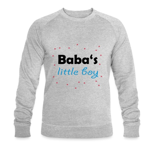 Baba's litte boy Babybody - Männer Bio-Sweatshirt von Stanley & Stella