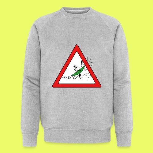 Kajak Unfall im Dreieck - Männer Bio-Sweatshirt von Stanley & Stella