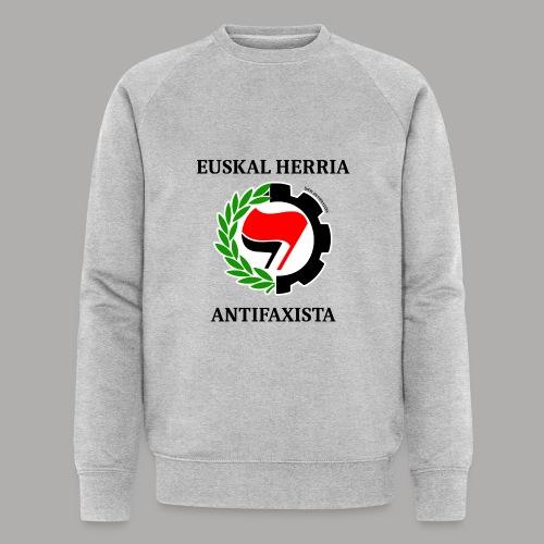 EH antifaxista pour fond clair - Sweat-shirt bio Stanley & Stella Homme