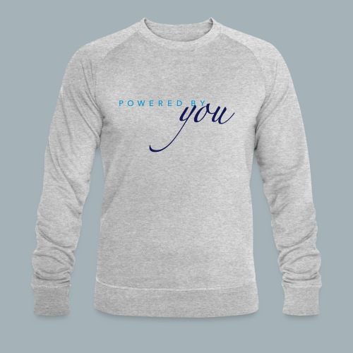 Powered By You Basketbal Shirt - Mannen bio sweatshirt van Stanley & Stella
