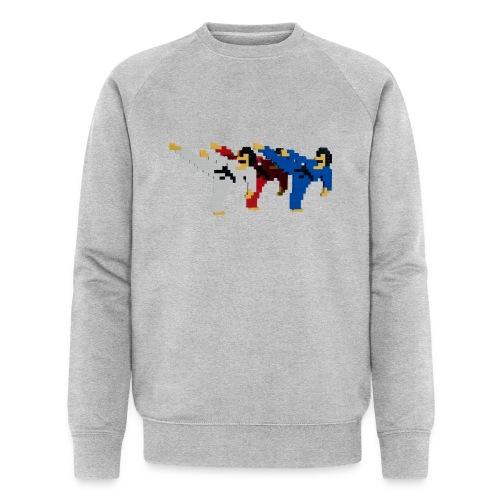 8 bit trip ninjas 2 - Men's Organic Sweatshirt