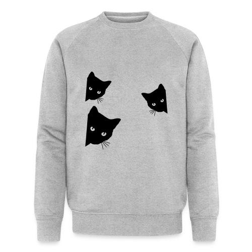 Vorschau: cats - Männer Bio-Sweatshirt von Stanley & Stella