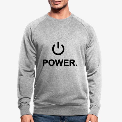 power - Sweat-shirt bio