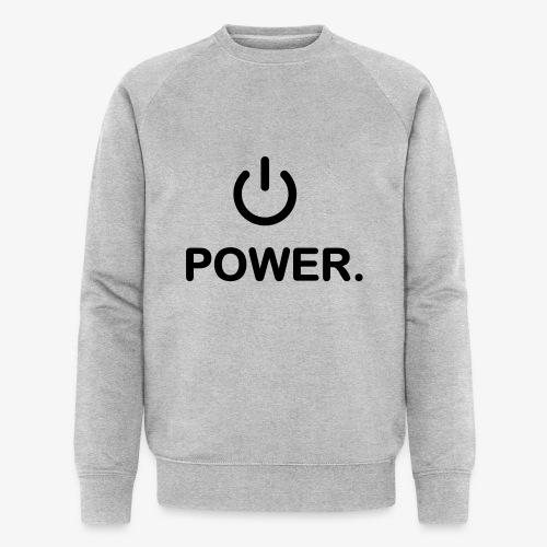 power - Sweat-shirt bio Stanley & Stella Homme