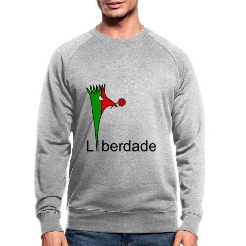 Galoloco - Liberdaded - 25 Abril - Männer Bio-Sweatshirt