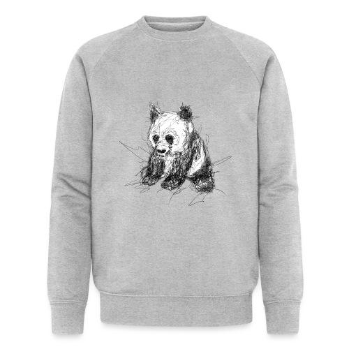 Scribblepanda - Men's Organic Sweatshirt by Stanley & Stella
