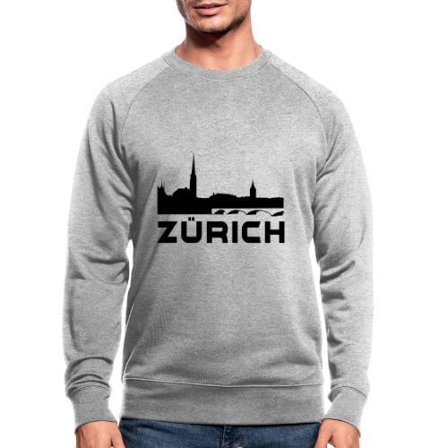 Zürich - Männer Bio-Sweatshirt