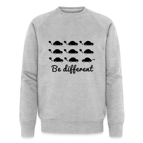 Be different - Männer Bio-Sweatshirt von Stanley & Stella