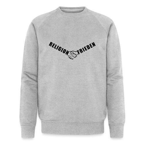 46_Handschlag_01 - Männer Bio-Sweatshirt von Stanley & Stella
