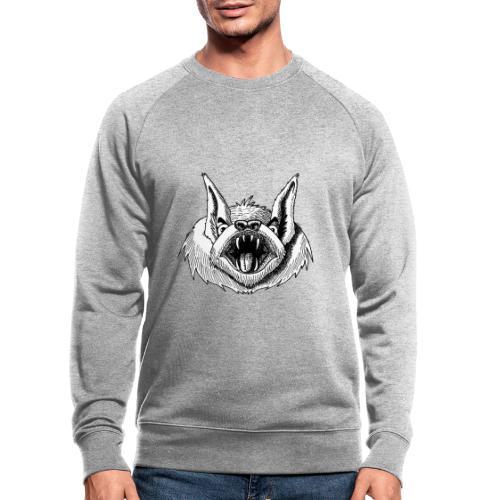 Fledermaus - Männer Bio-Sweatshirt