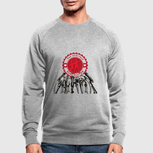 THEGENITALS - Økologisk sweatshirt til herrer