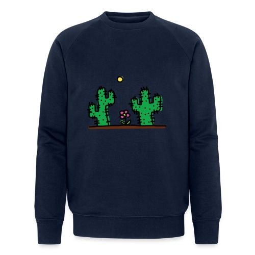 Cactus - Felpa ecologica da uomo