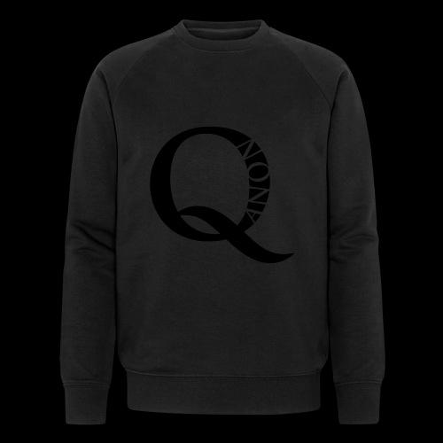 Q Anon Q-Anon Original Logo - Männer Bio-Sweatshirt von Stanley & Stella