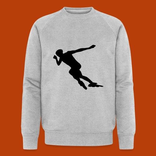 Speedskater - Männer Bio-Sweatshirt