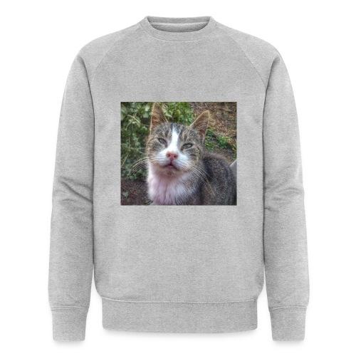 Katze Max - Männer Bio-Sweatshirt von Stanley & Stella