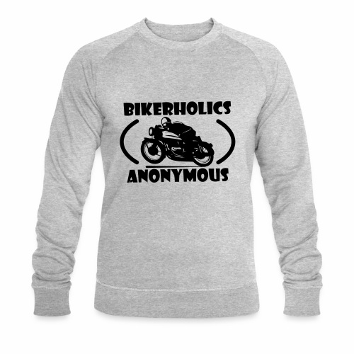 Bikerholics Anonymous - Men's Organic Sweatshirt by Stanley & Stella