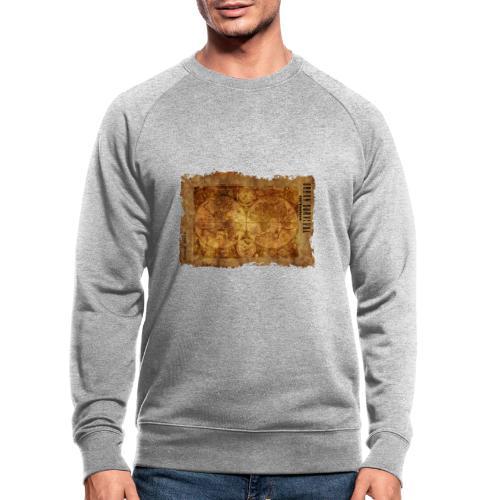 map of the world 2241469 1920 - Männer Bio-Sweatshirt