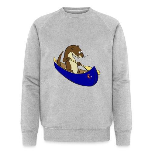 bluecanoewithsticker - Men's Organic Sweatshirt