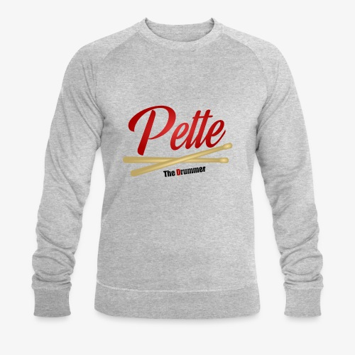 Pette the Drummer - Men's Organic Sweatshirt by Stanley & Stella