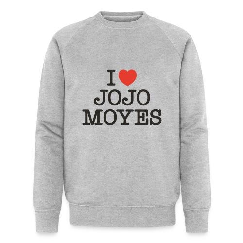 I LOVE JOJO MOYES - Økologisk sweatshirt til herrer